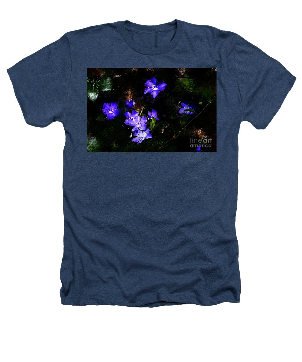 Spring Heathers T-Shirt featuring the photograph Violet by David Lane