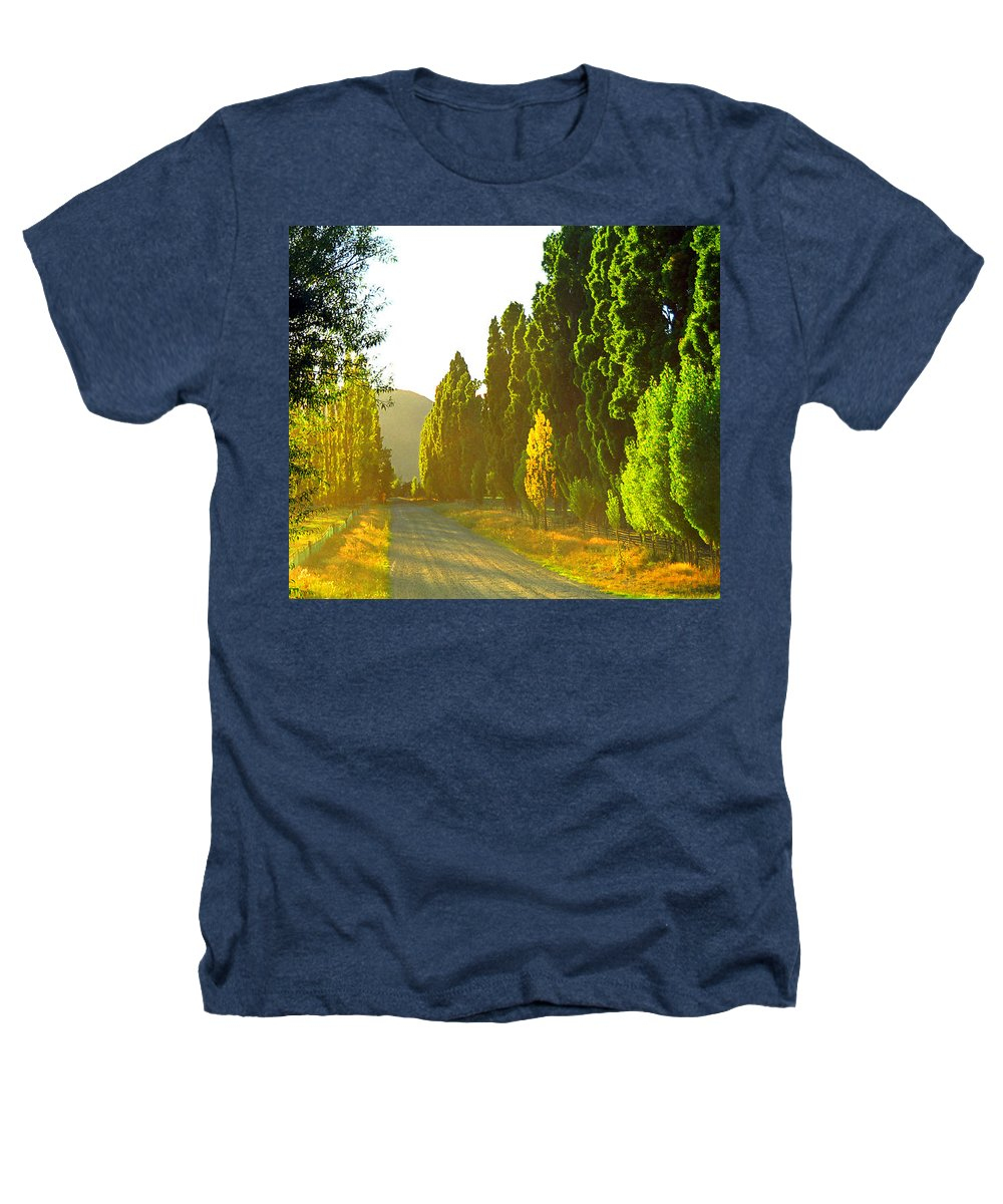 Wanaka Heathers T-Shirt featuring the photograph Wanaka Morning Light by Kevin Smith