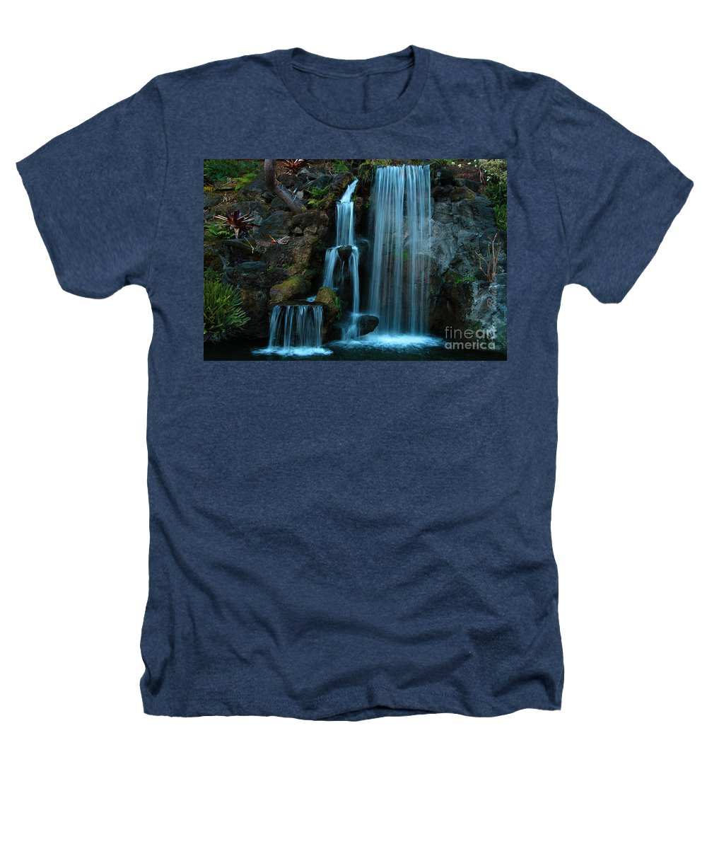 Clay Heathers T-Shirt featuring the photograph Waterfalls by Clayton Bruster
