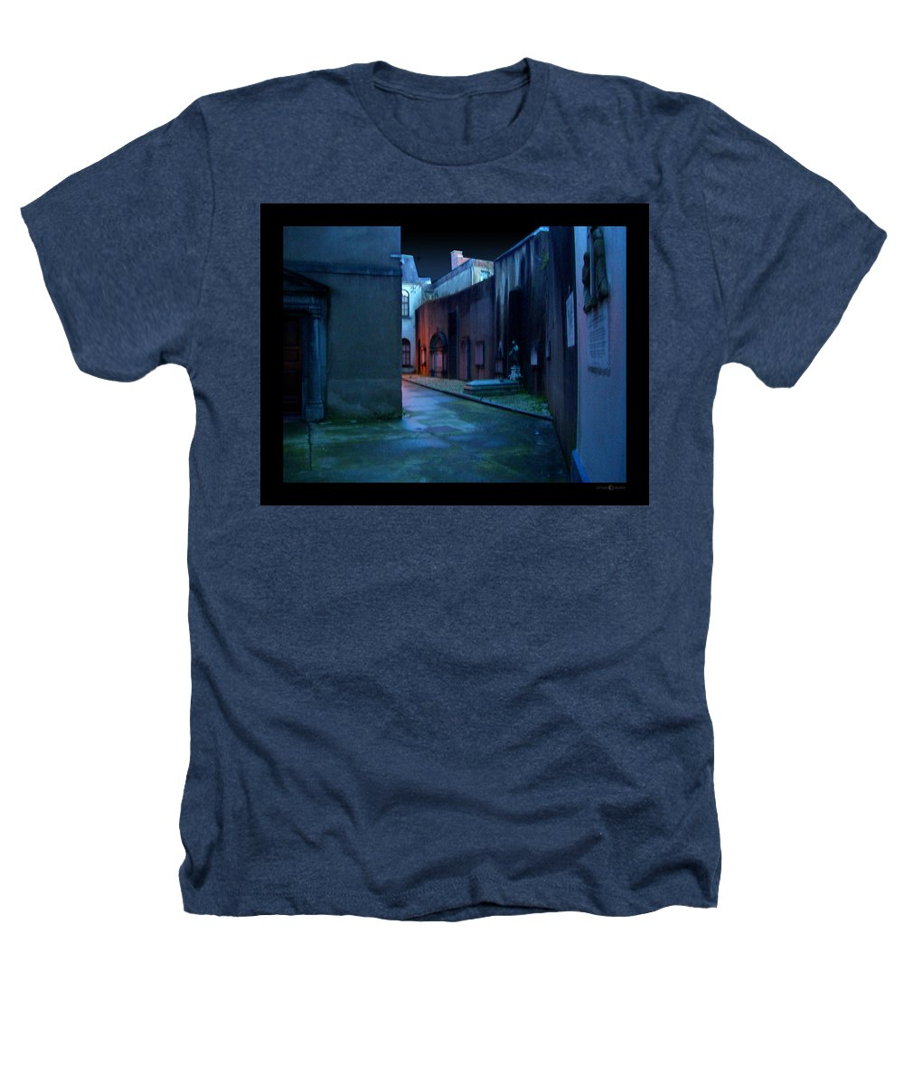 Waterford Heathers T-Shirt featuring the photograph Waterford Alley by Tim Nyberg