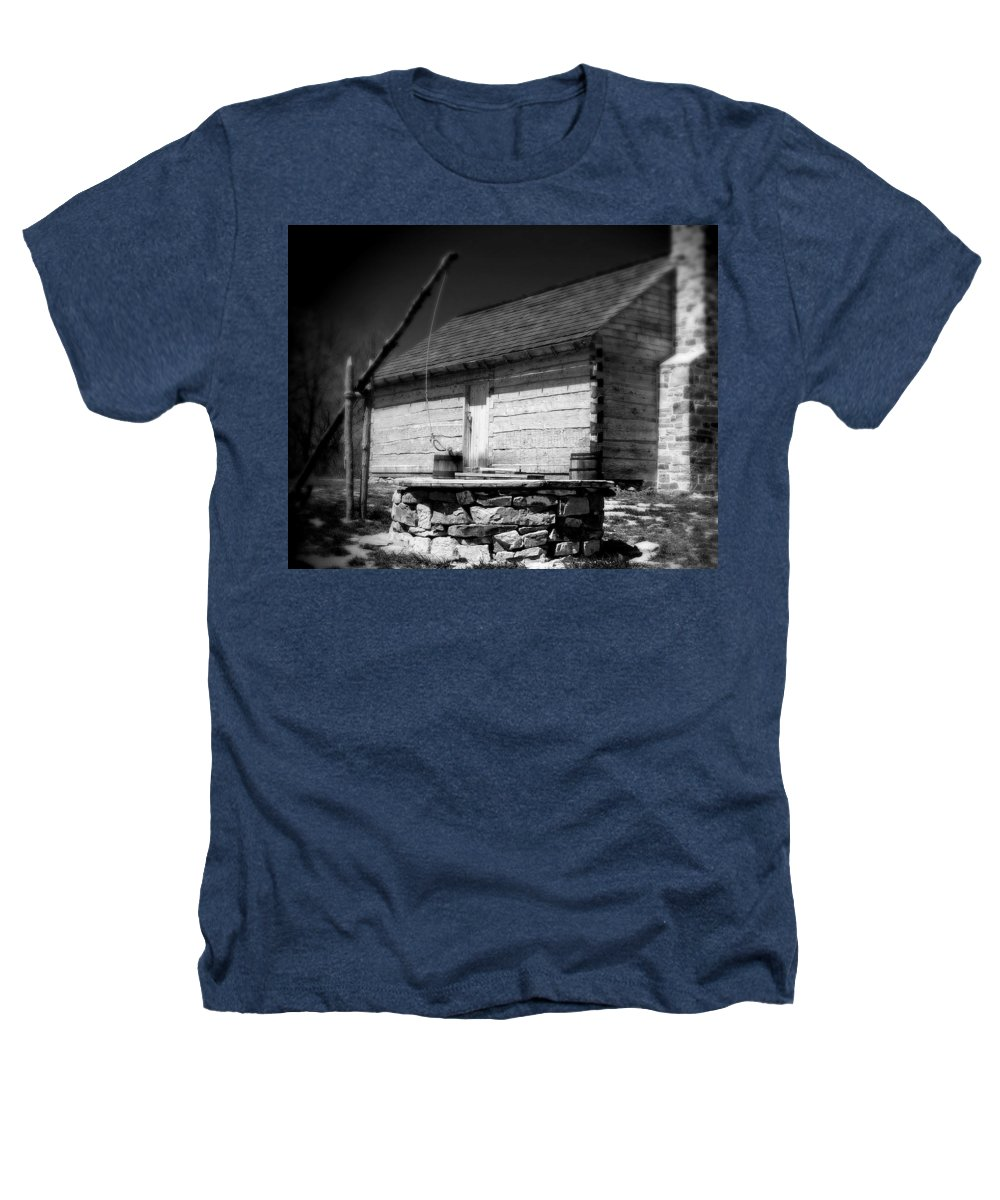 Army Heathers T-Shirt featuring the photograph Way Station French And Indian War by Jean Macaluso