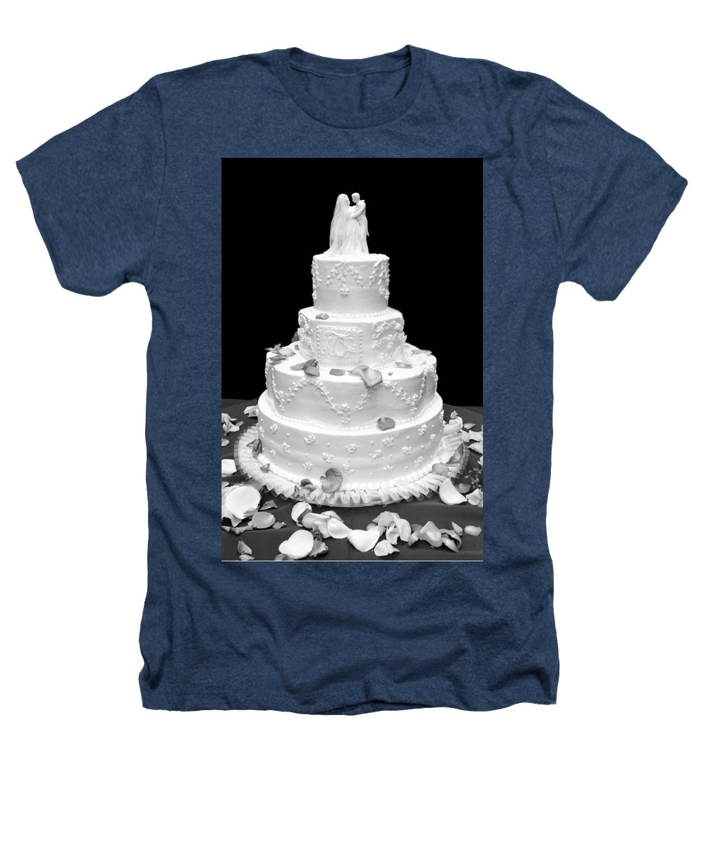 Wedding Heathers T-Shirt featuring the photograph Wedding Cake by Marilyn Hunt