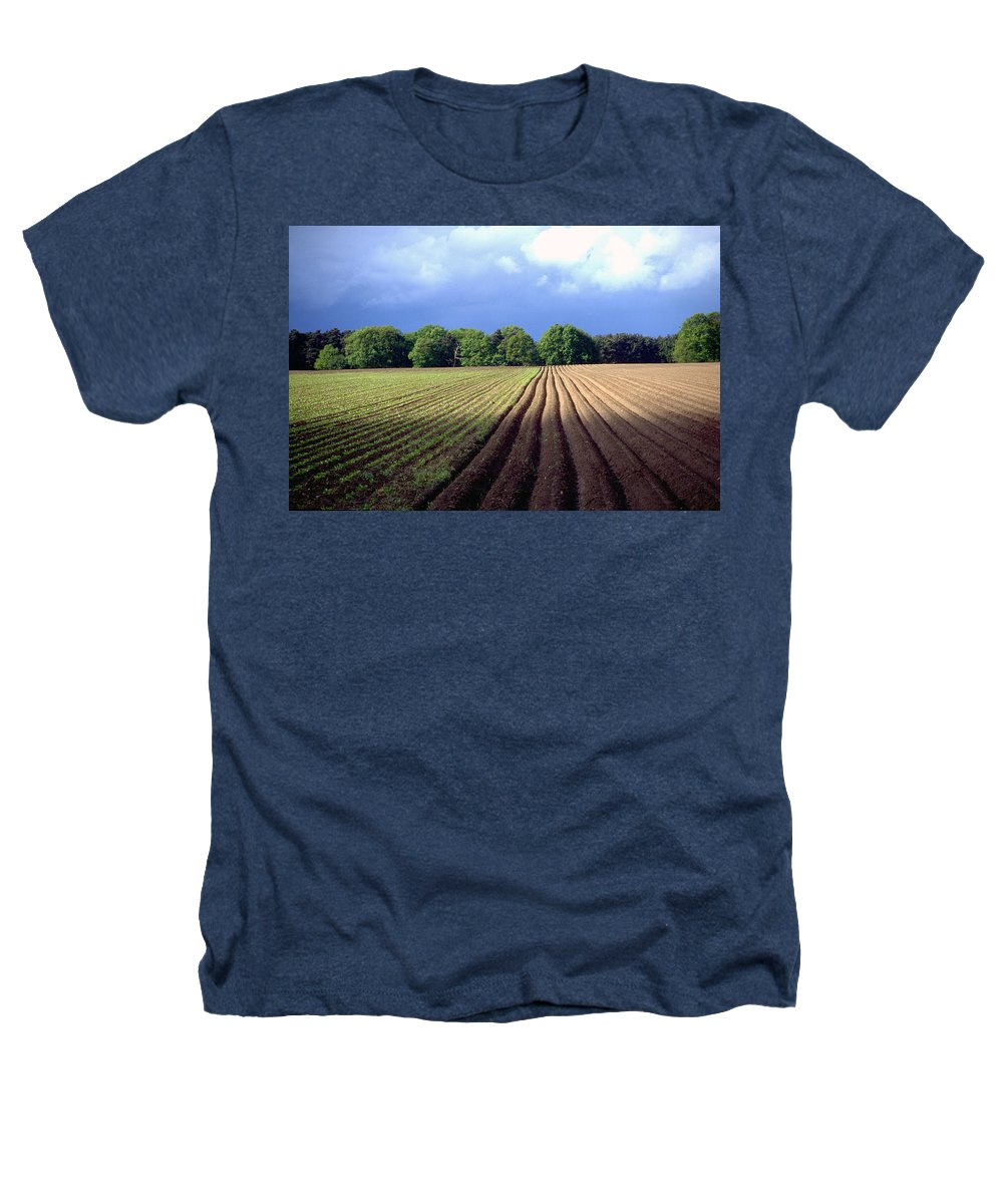 Wendland Heathers T-Shirt featuring the photograph Wendland by Flavia Westerwelle