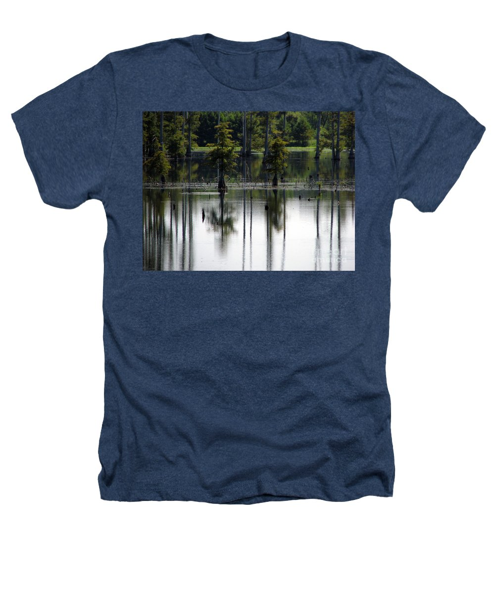 Wetlands Heathers T-Shirt featuring the photograph Wetland by Amanda Barcon