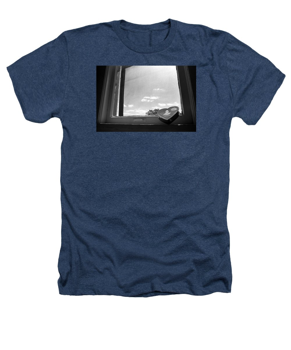 Window Heathers T-Shirt featuring the photograph What Remains by Ted M Tubbs