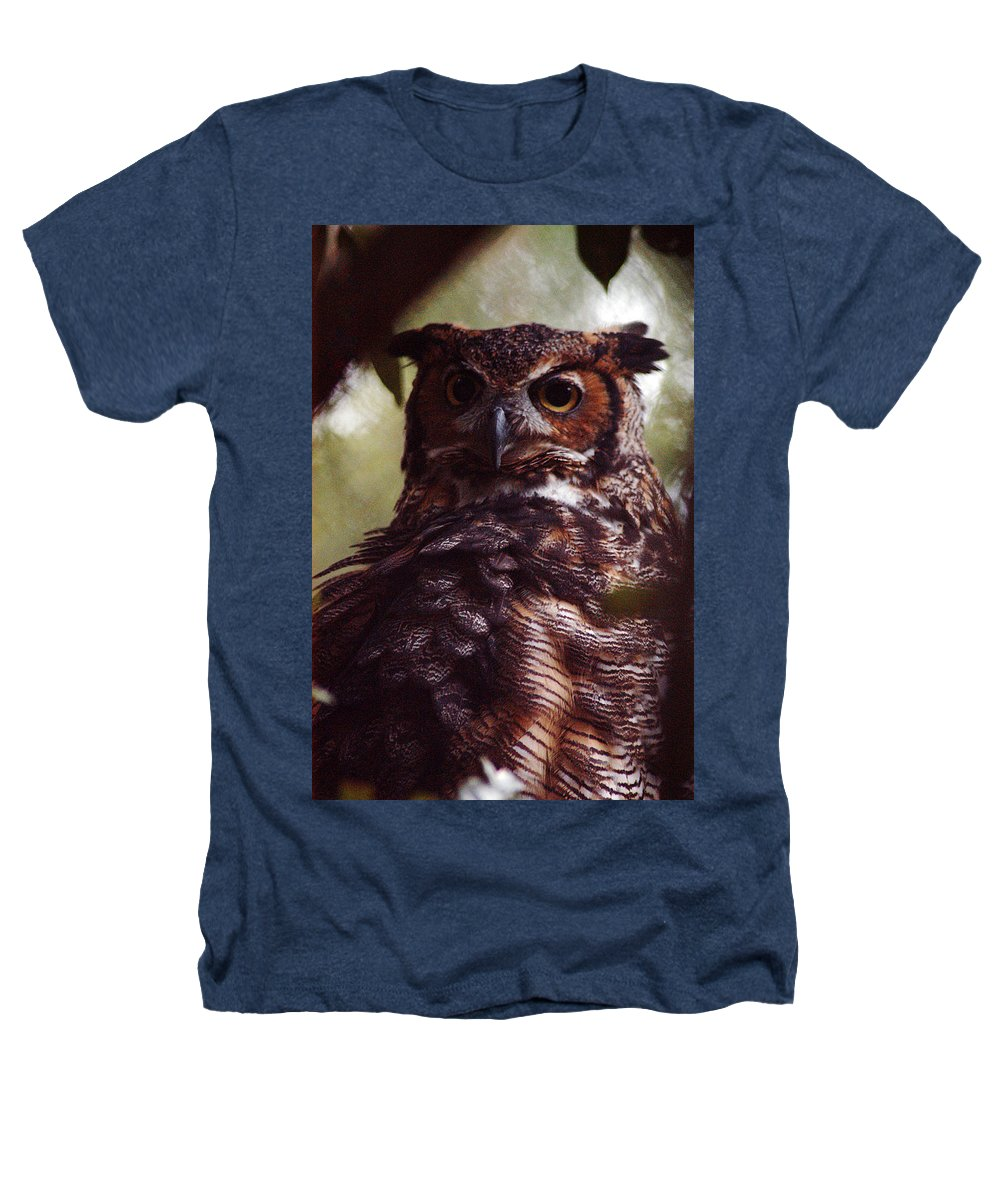 Clay Heathers T-Shirt featuring the photograph Who by Clayton Bruster