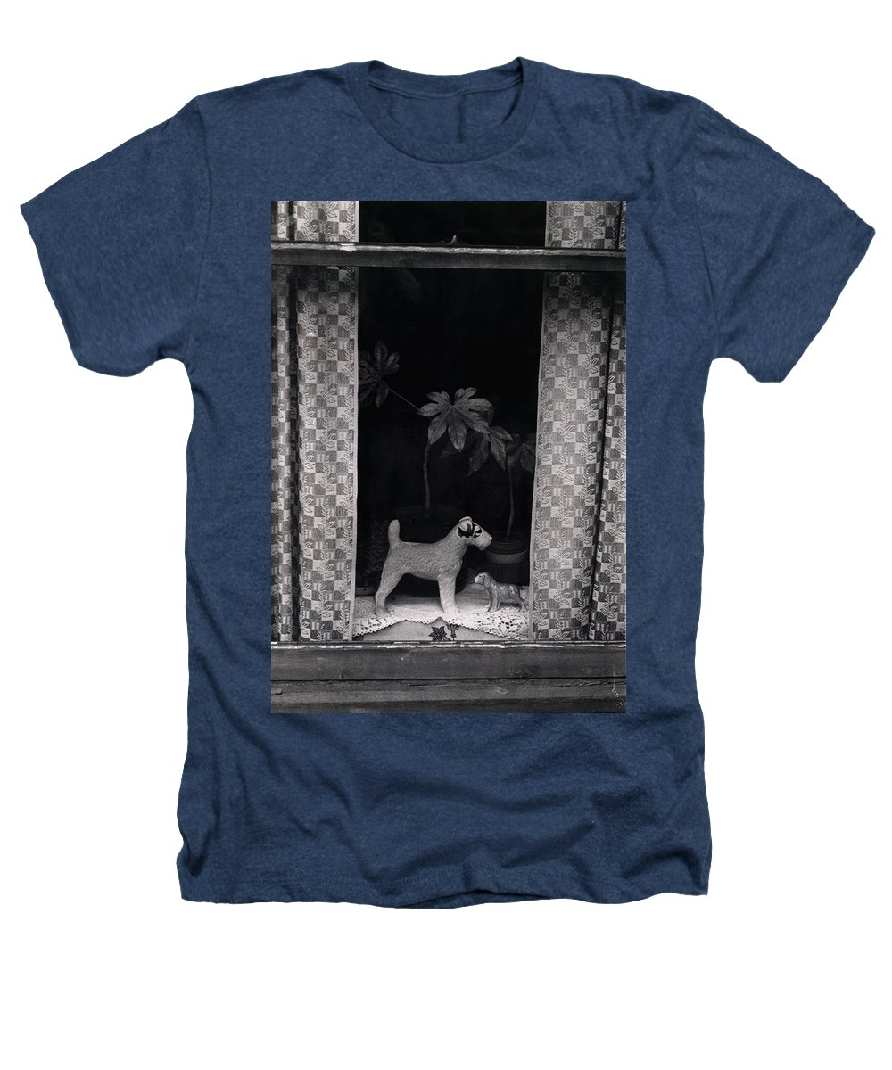 Photograph Heathers T-Shirt featuring the photograph Window Scene by Charles Stuart