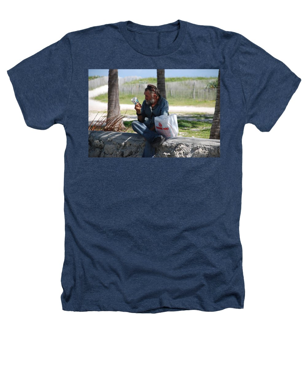 Man Heathers T-Shirt featuring the photograph Worldly Posessions by Rob Hans