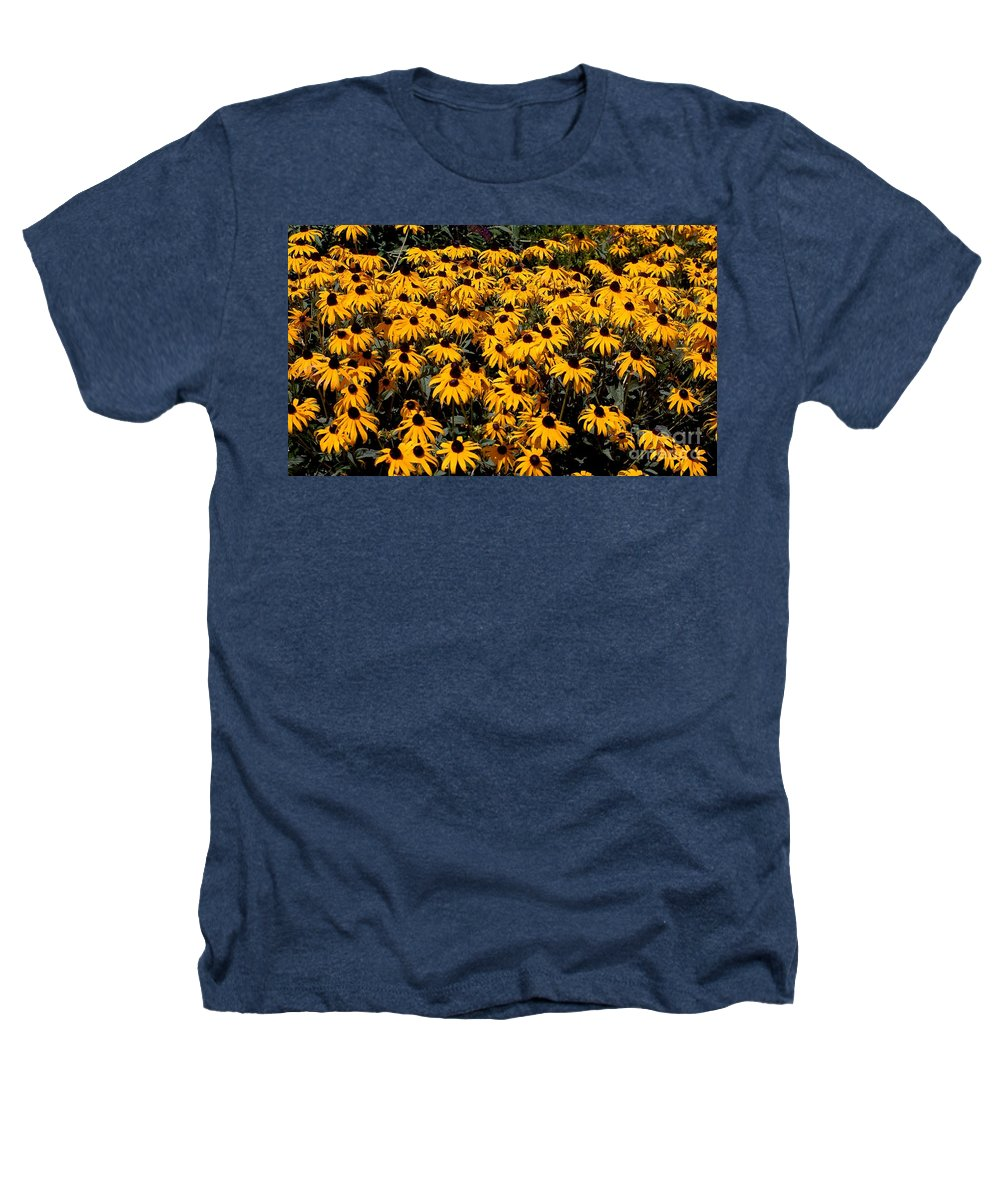 Digital Photo Heathers T-Shirt featuring the photograph Yellow Is The Color Of ..... by David Lane