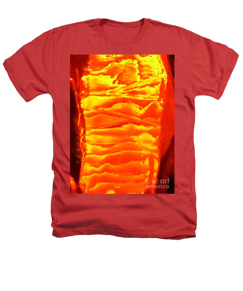 Orange Heathers T-Shirt featuring the photograph Abstract Orange by Amanda Barcon