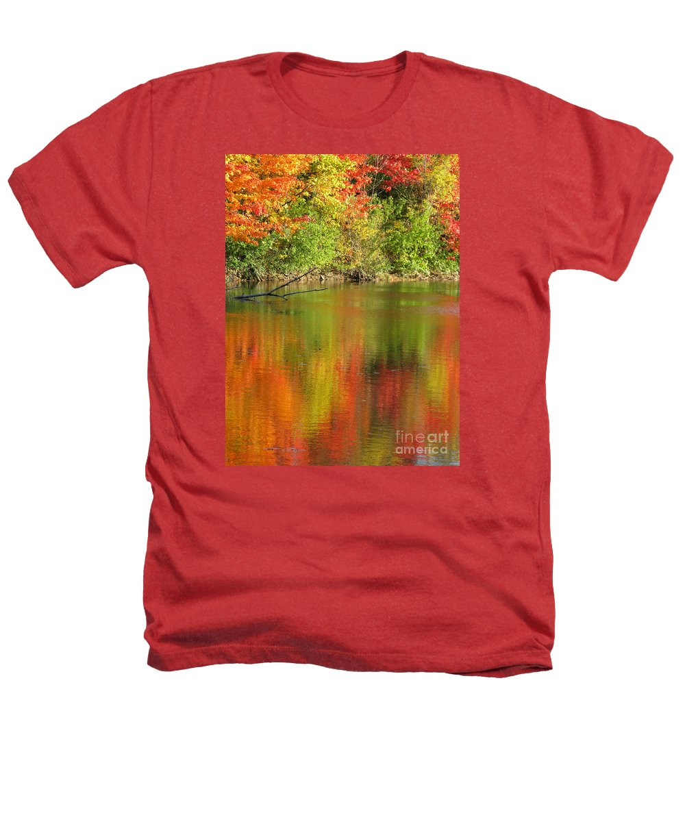 Autumn Heathers T-Shirt featuring the photograph Autumn Iridescence by Ann Horn