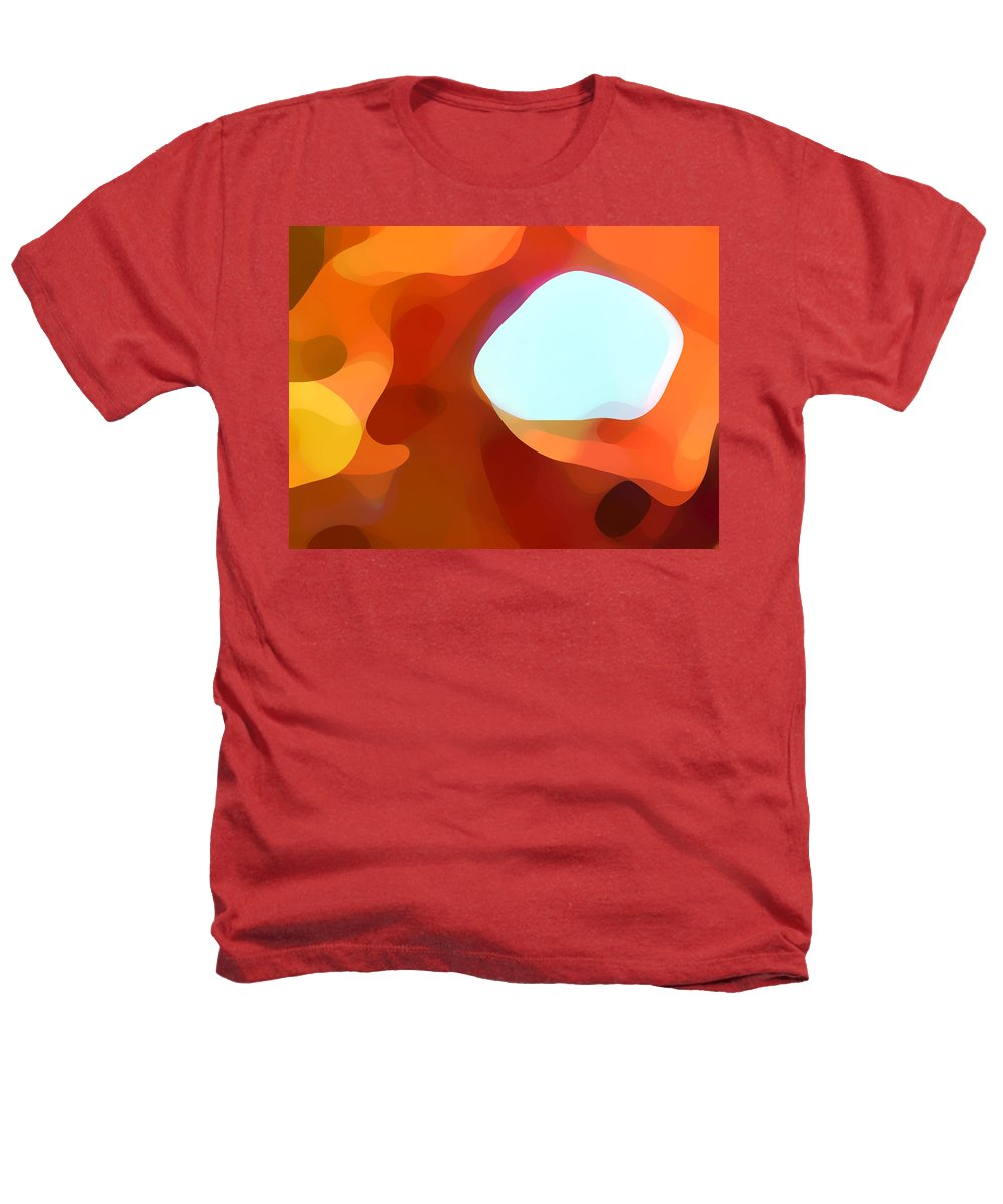 Abstract Heathers T-Shirt featuring the painting Fall Passage by Amy Vangsgard
