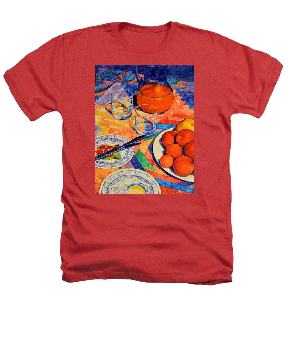 Still Life Heathers T-Shirt featuring the painting Still Life 1 by Iliyan Bozhanov