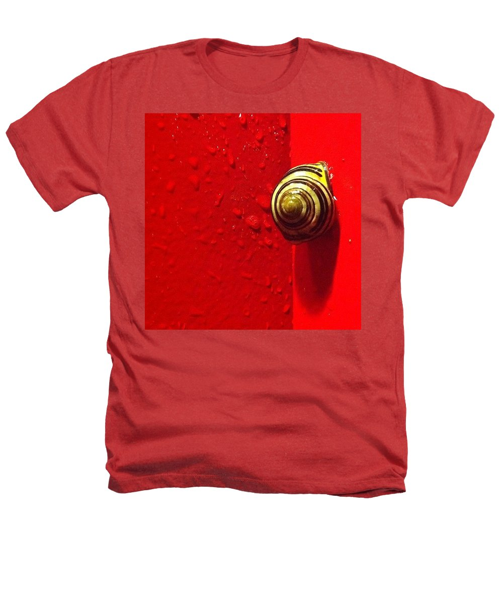 Nofilter Heathers T-Shirt featuring the photograph Never A Shortage Of #snails Back Here by Katie Cupcakes