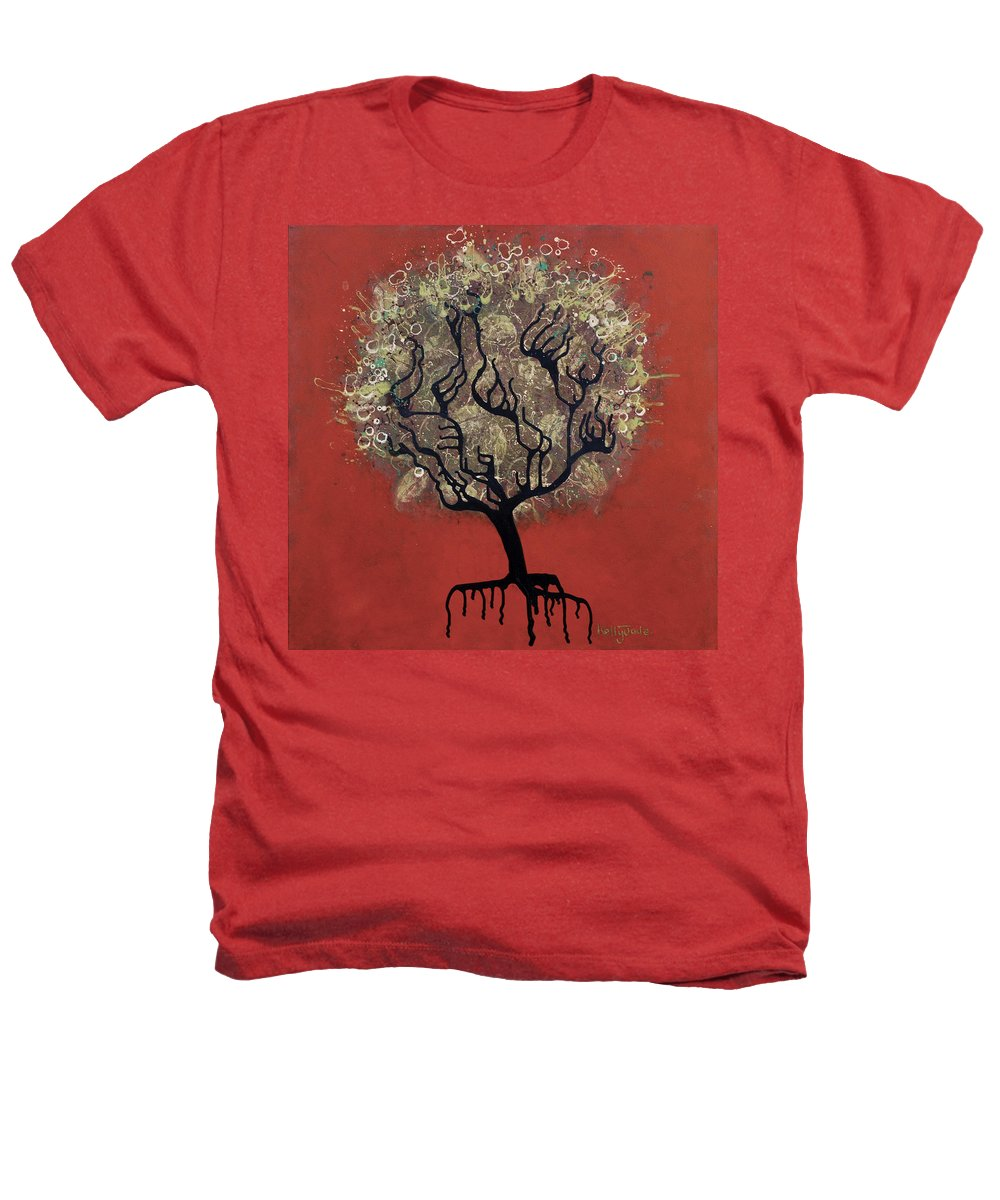 Tree Heathers T-Shirt featuring the painting Abc Tree by Kelly Jade King