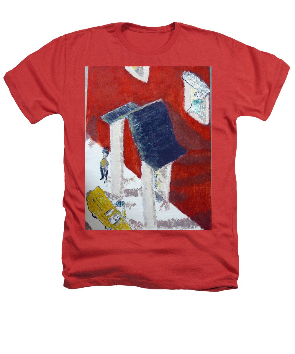 Social Realiism Heathers T-Shirt featuring the painting Accessories by R B