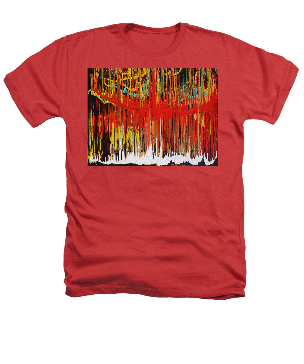 Fusionart Heathers T-Shirt featuring the painting Ascension by Ralph White