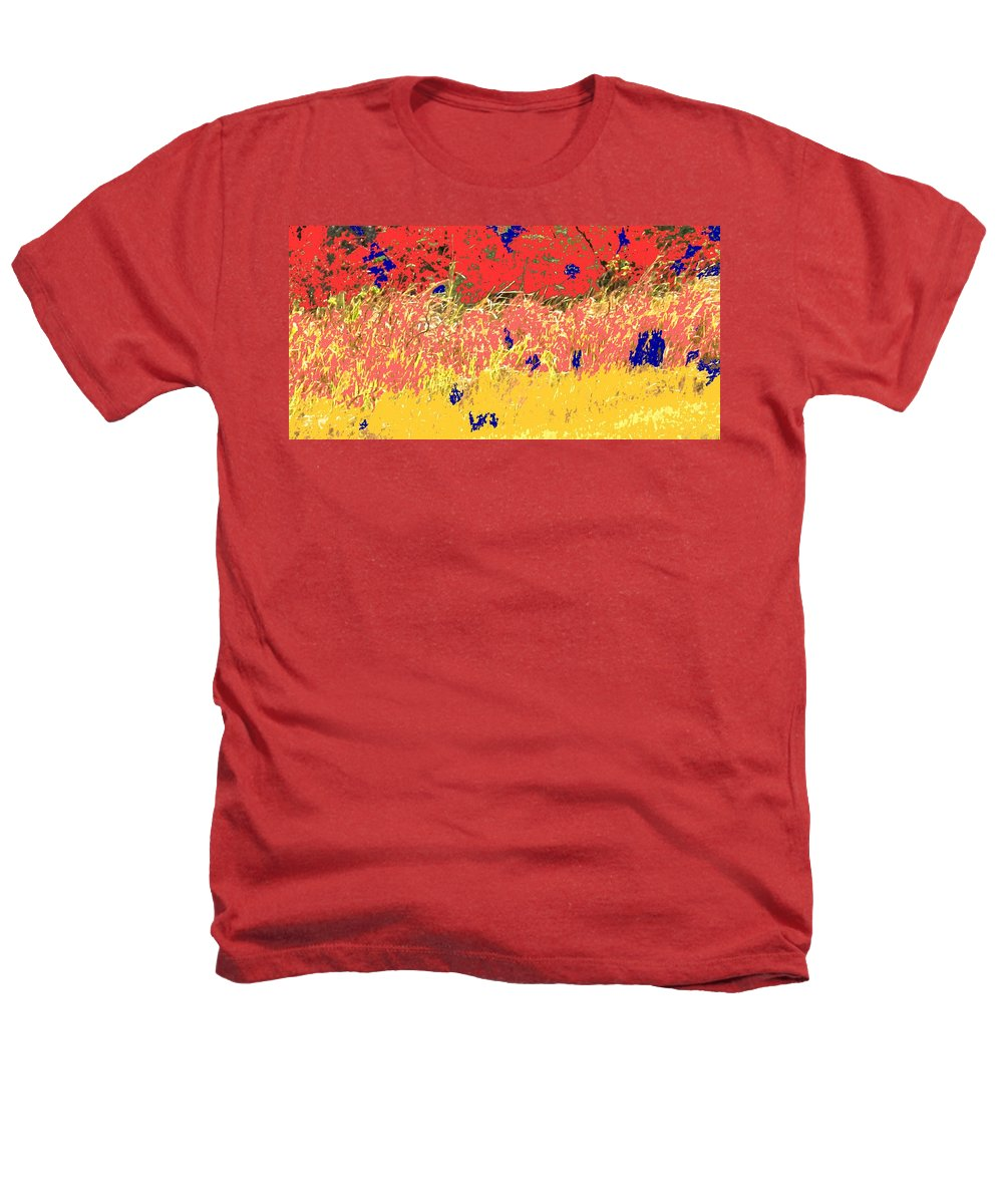Autumn Heathers T-Shirt featuring the photograph Autumn Grasses by Ian MacDonald