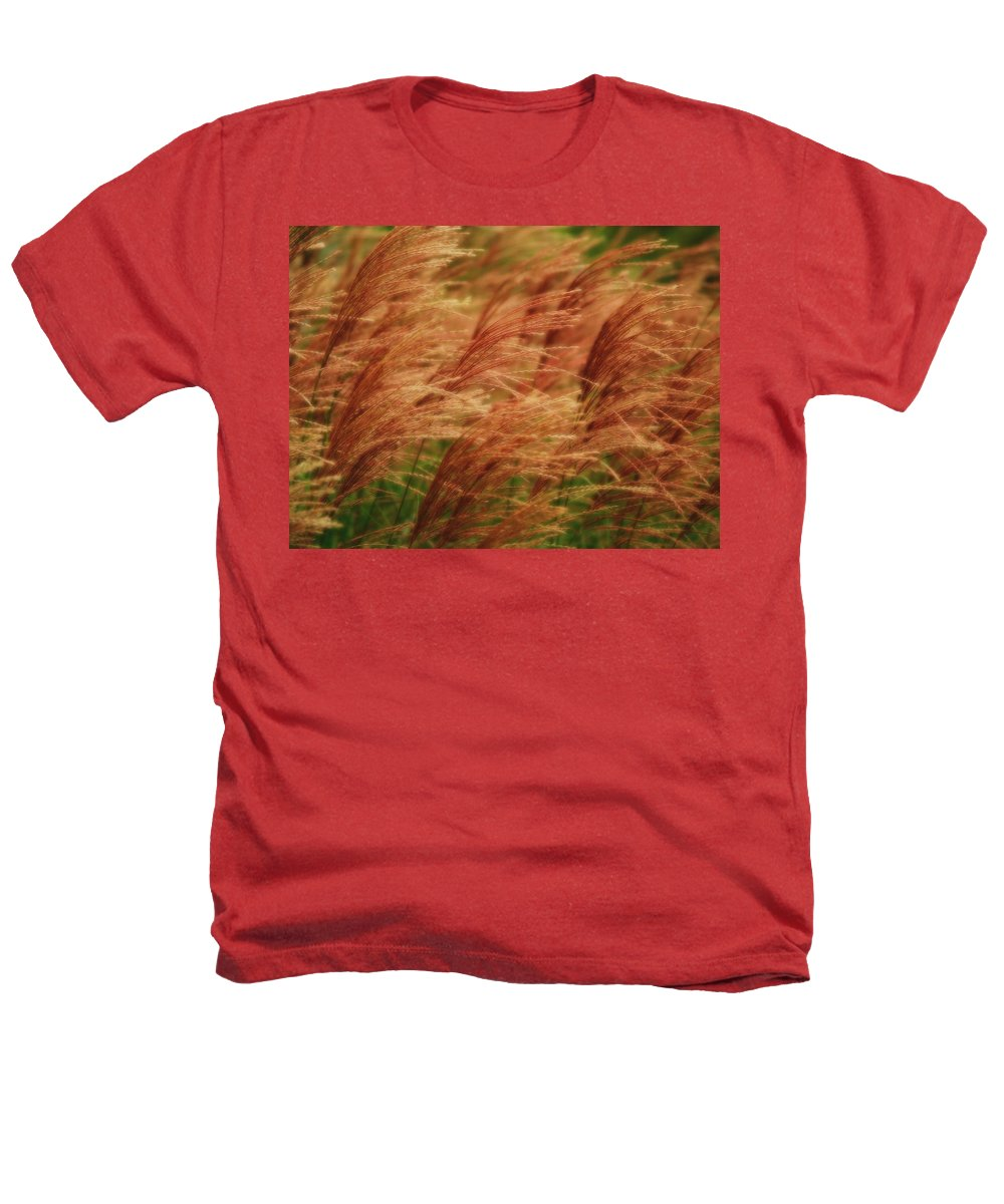 Win Heathers T-Shirt featuring the photograph Blowing In The Wind by Gaby Swanson