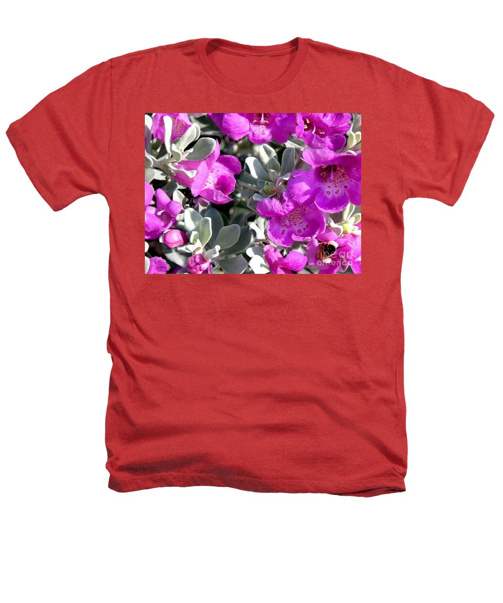 Nature Heathers T-Shirt featuring the photograph Bottoms Up by Lucyna A M Green