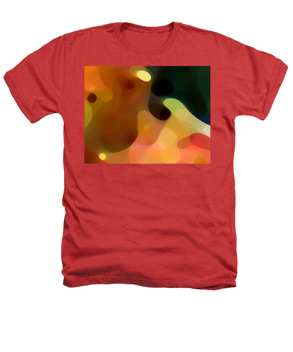 Bold Heathers T-Shirt featuring the painting Cactus Fruit by Amy Vangsgard
