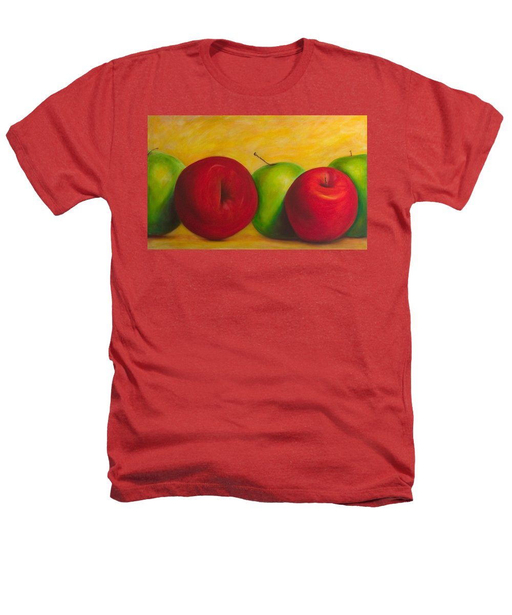 Still Life Heathers T-Shirt featuring the painting Cancan by Shannon Grissom