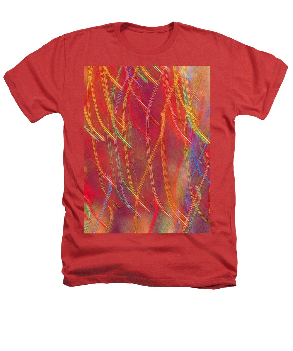 Abstract Heathers T-Shirt featuring the photograph Celebration by Gaby Swanson