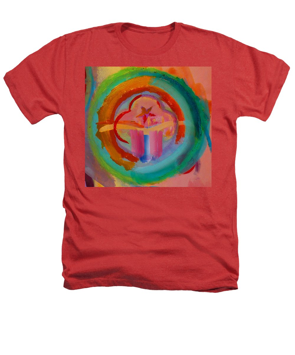 Logo Heathers T-Shirt featuring the painting Colour States by Charles Stuart