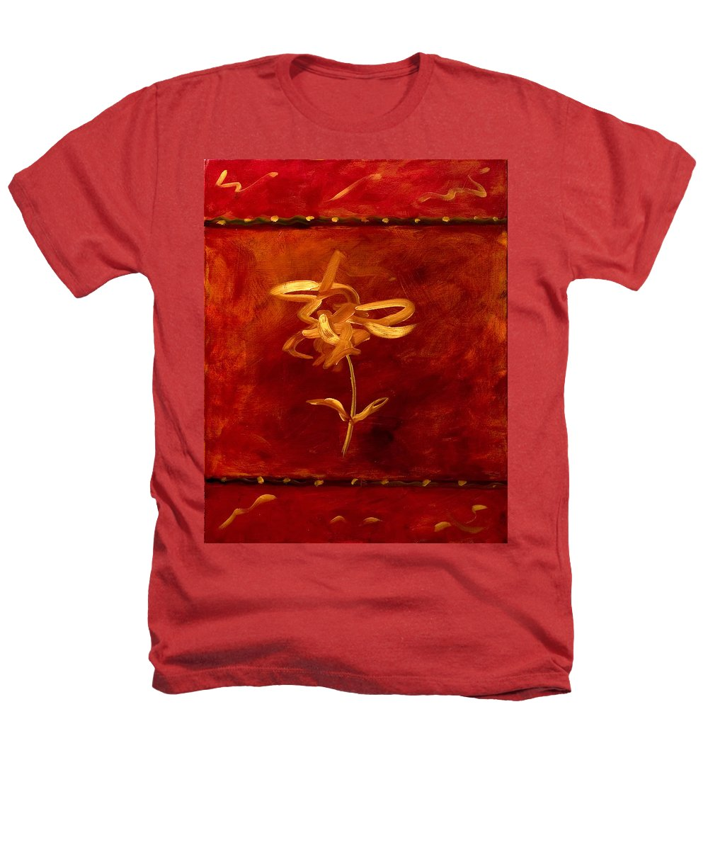 Abstract Heathers T-Shirt featuring the painting Confidence by Shannon Grissom