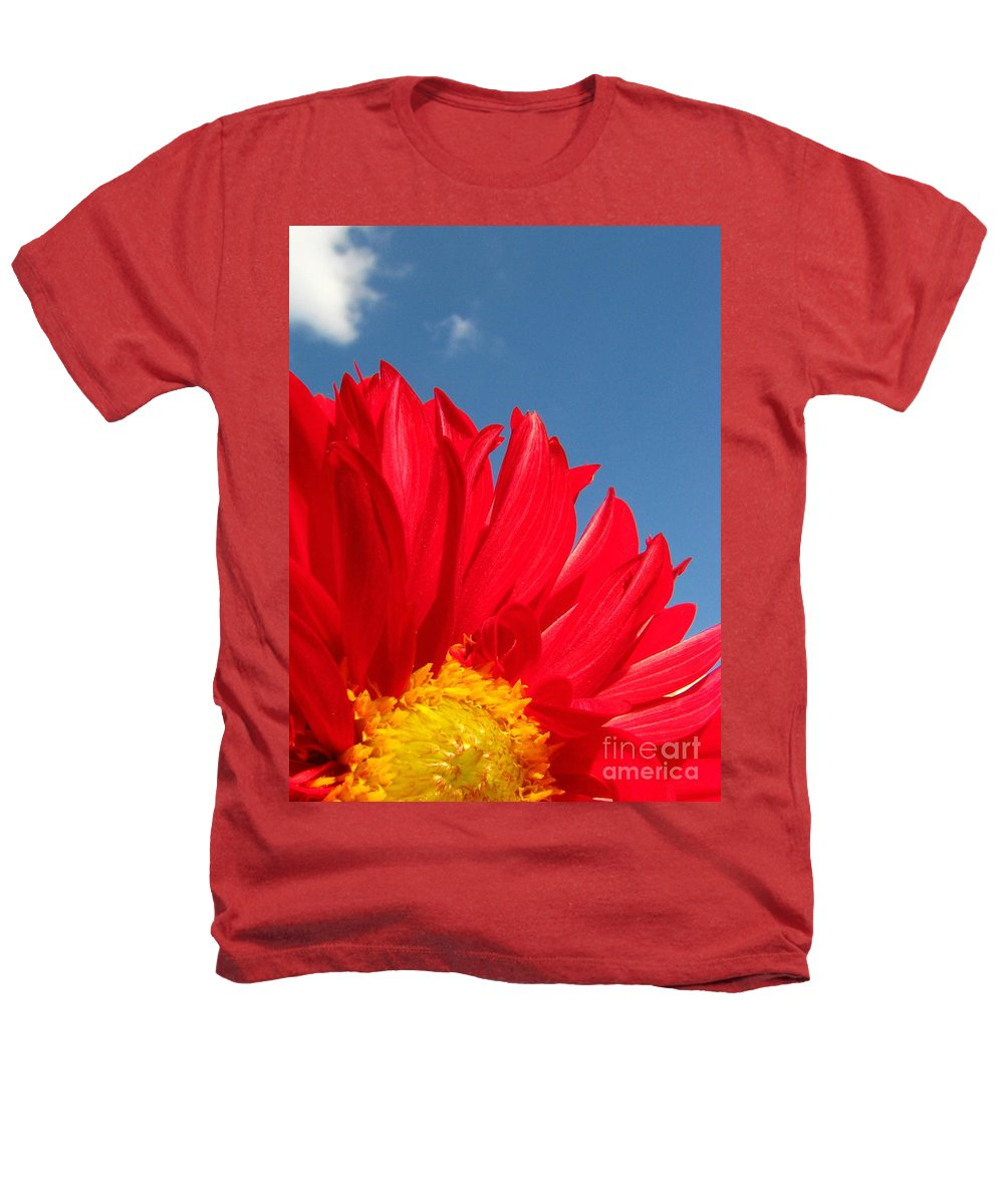 Dahlia Heathers T-Shirt featuring the photograph Dahlia by Amanda Barcon
