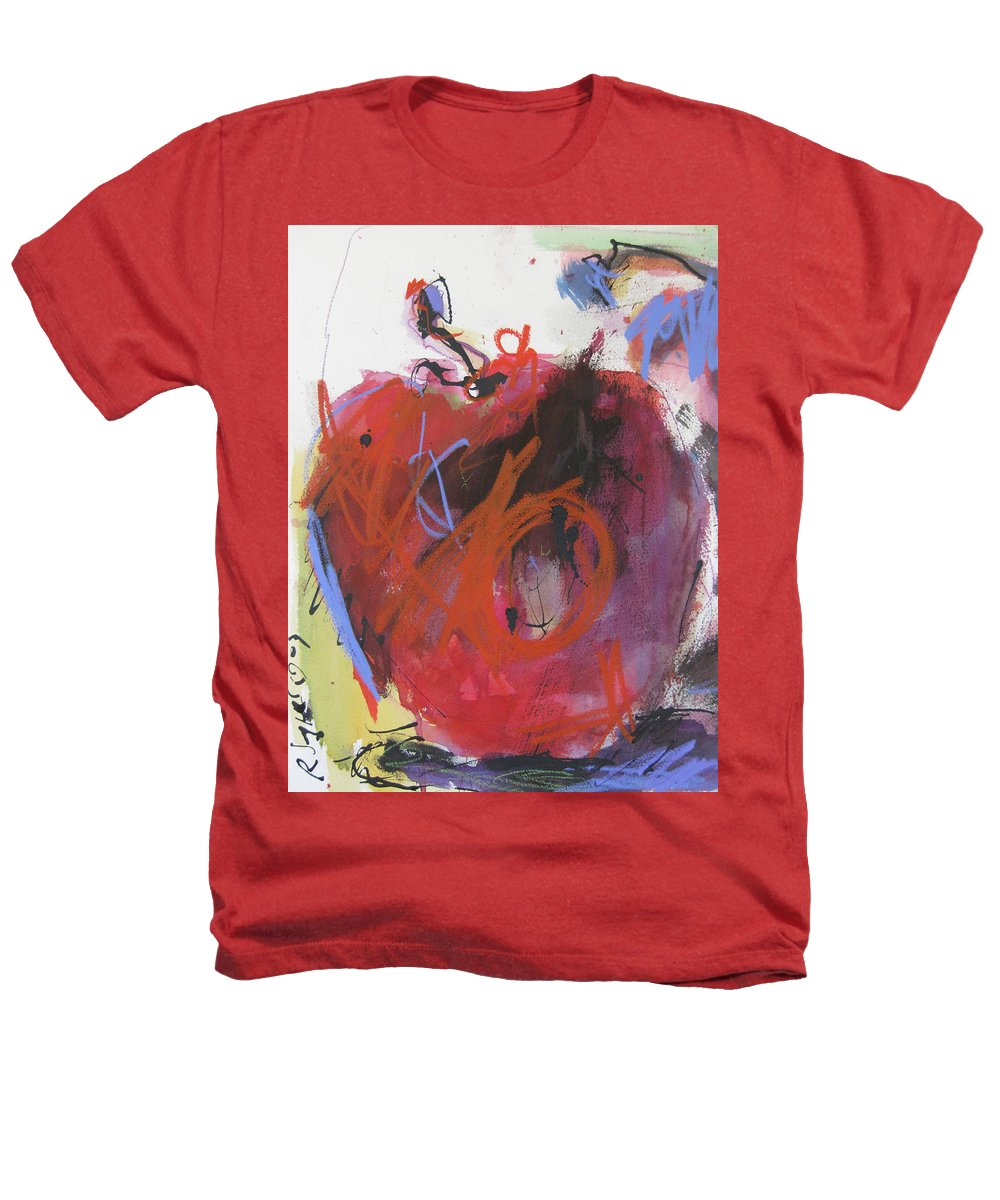 Apple Heathers T-Shirt featuring the painting Dr. Repellent by Robert Joyner