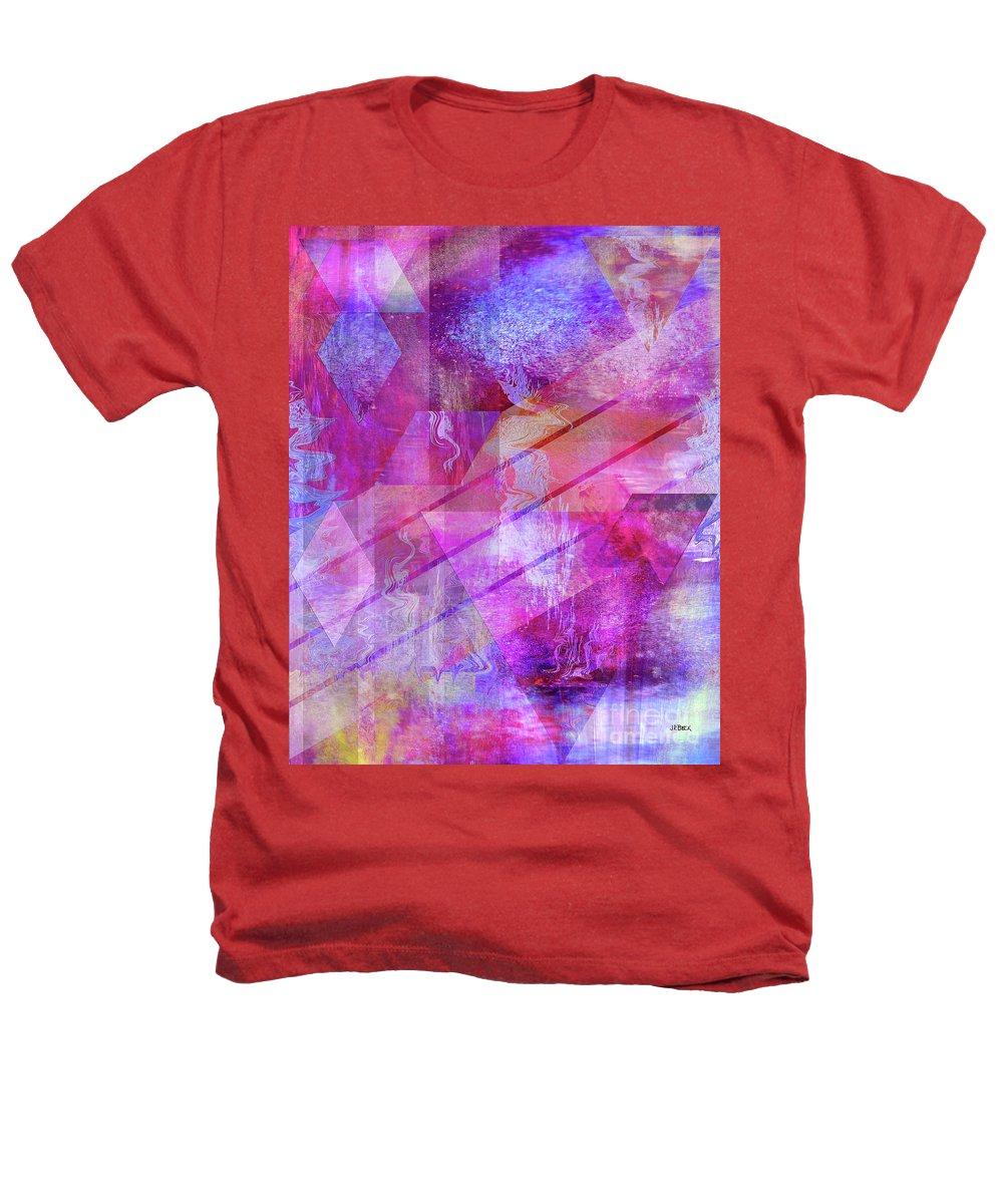 Dragon's Kiss Heathers T-Shirt featuring the digital art Dragon's Kiss by John Beck