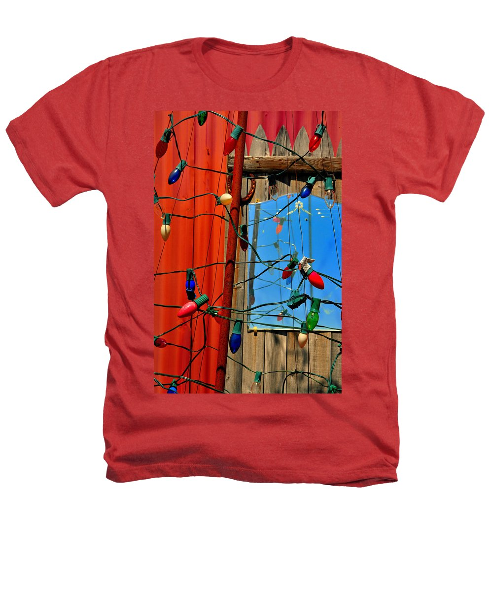 Skip Hunt Heathers T-Shirt featuring the photograph Electric Lady Land by Skip Hunt