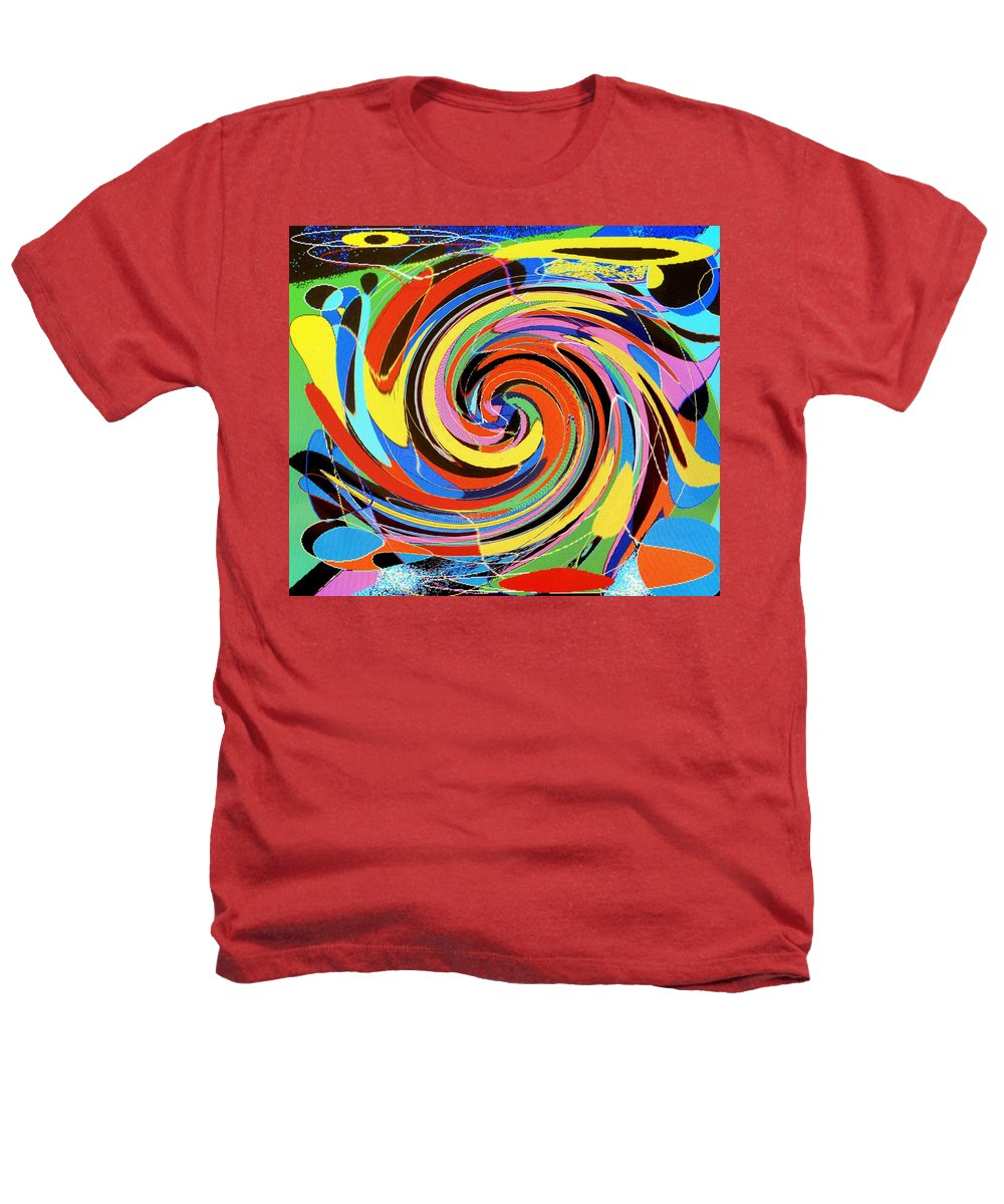 Heathers T-Shirt featuring the digital art Escaping The Vortex by Ian MacDonald