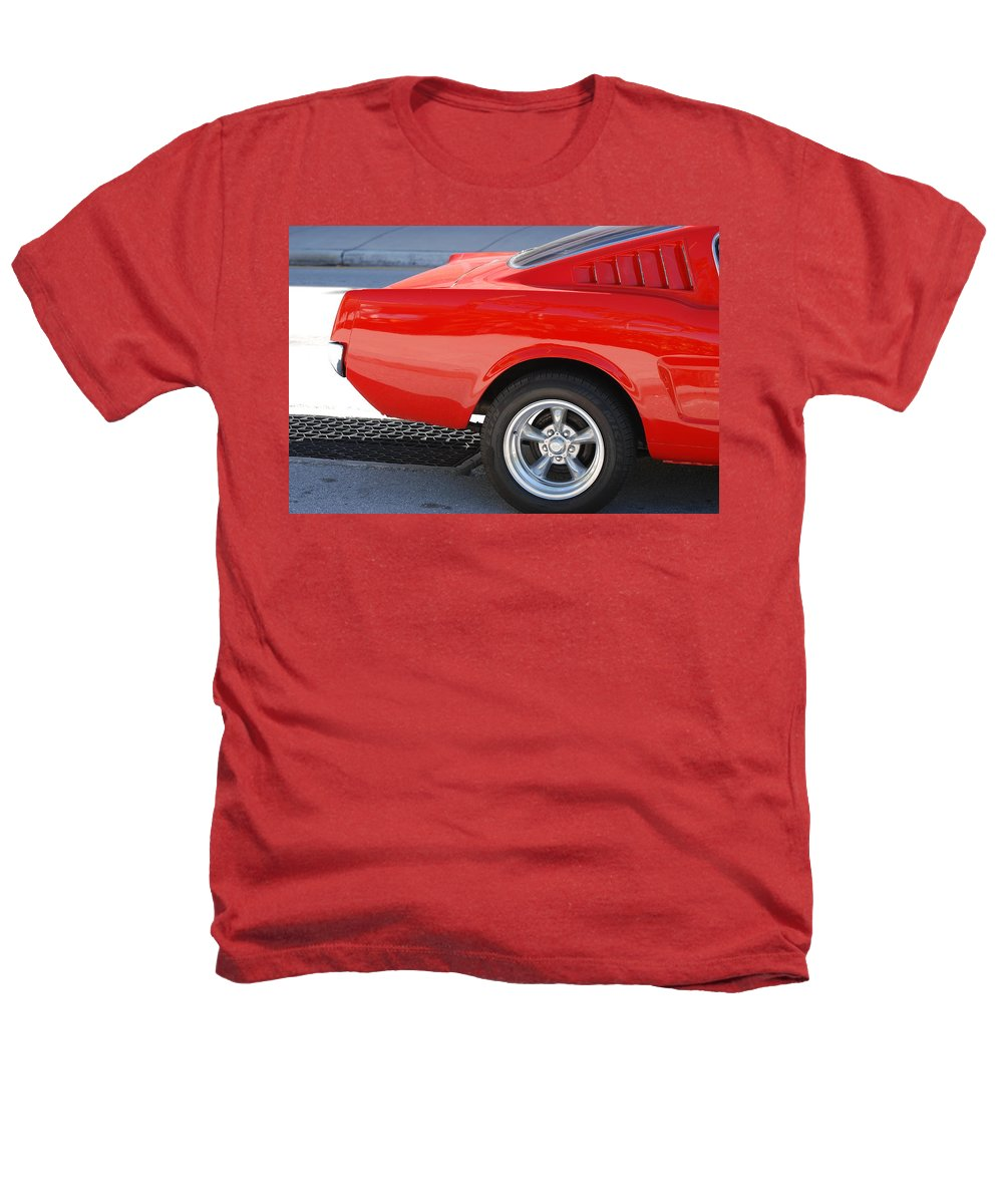 Ford Heathers T-Shirt featuring the photograph Fastback Mustang by Rob Hans