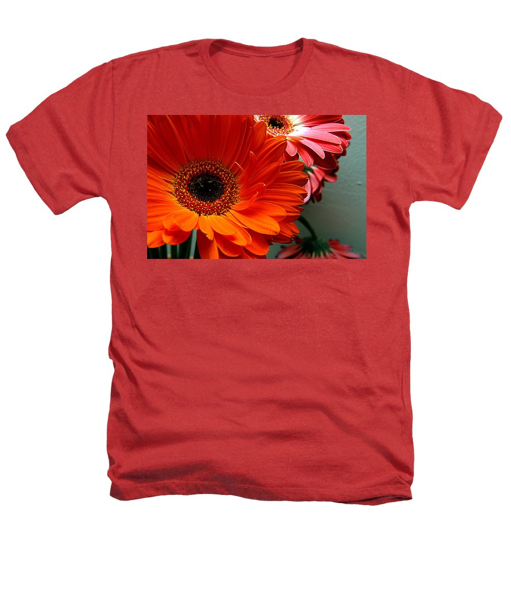 Clay Heathers T-Shirt featuring the photograph Floral Art by Clayton Bruster