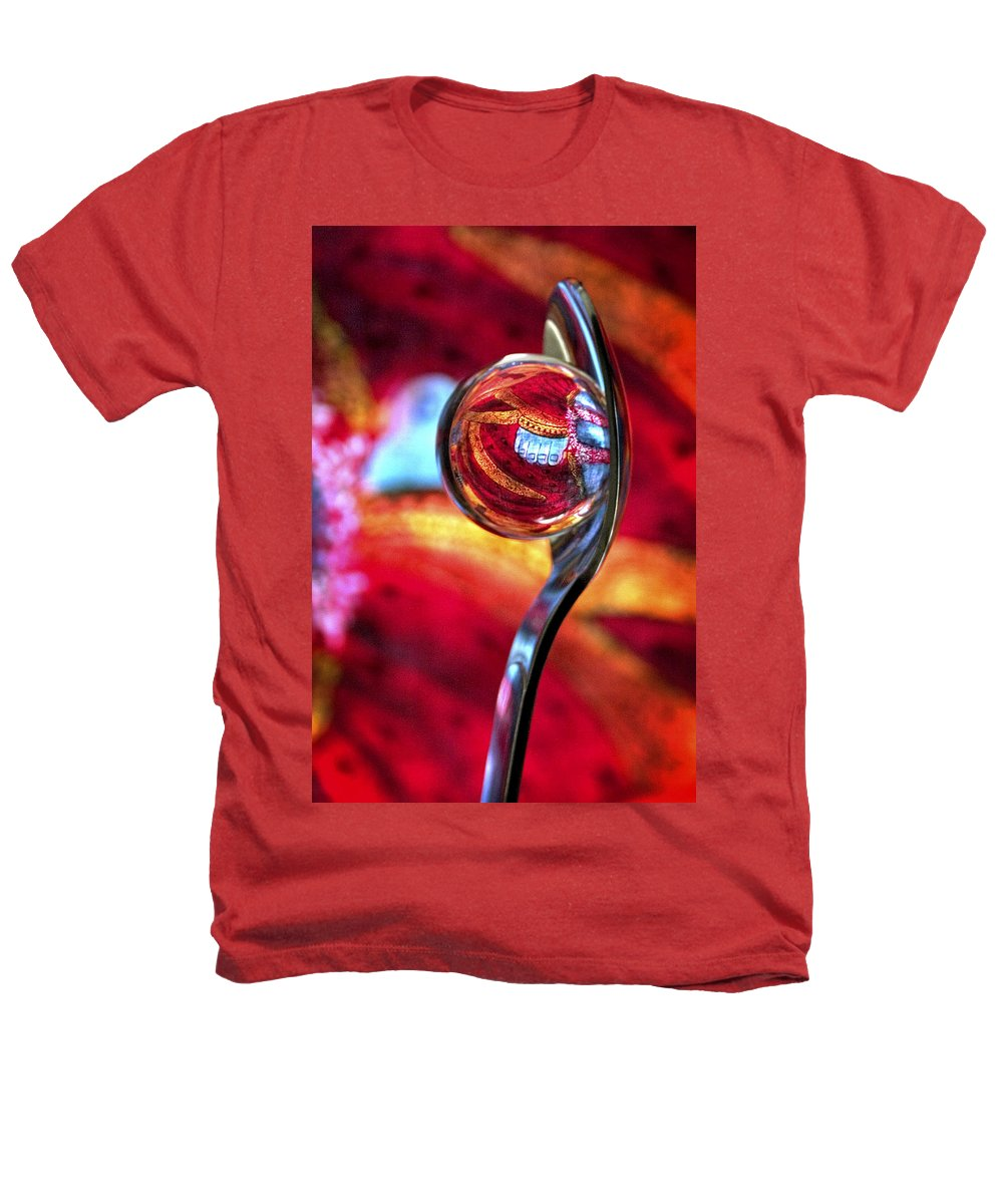 Ball Heathers T-Shirt featuring the photograph Ganesh Spoon by Skip Hunt