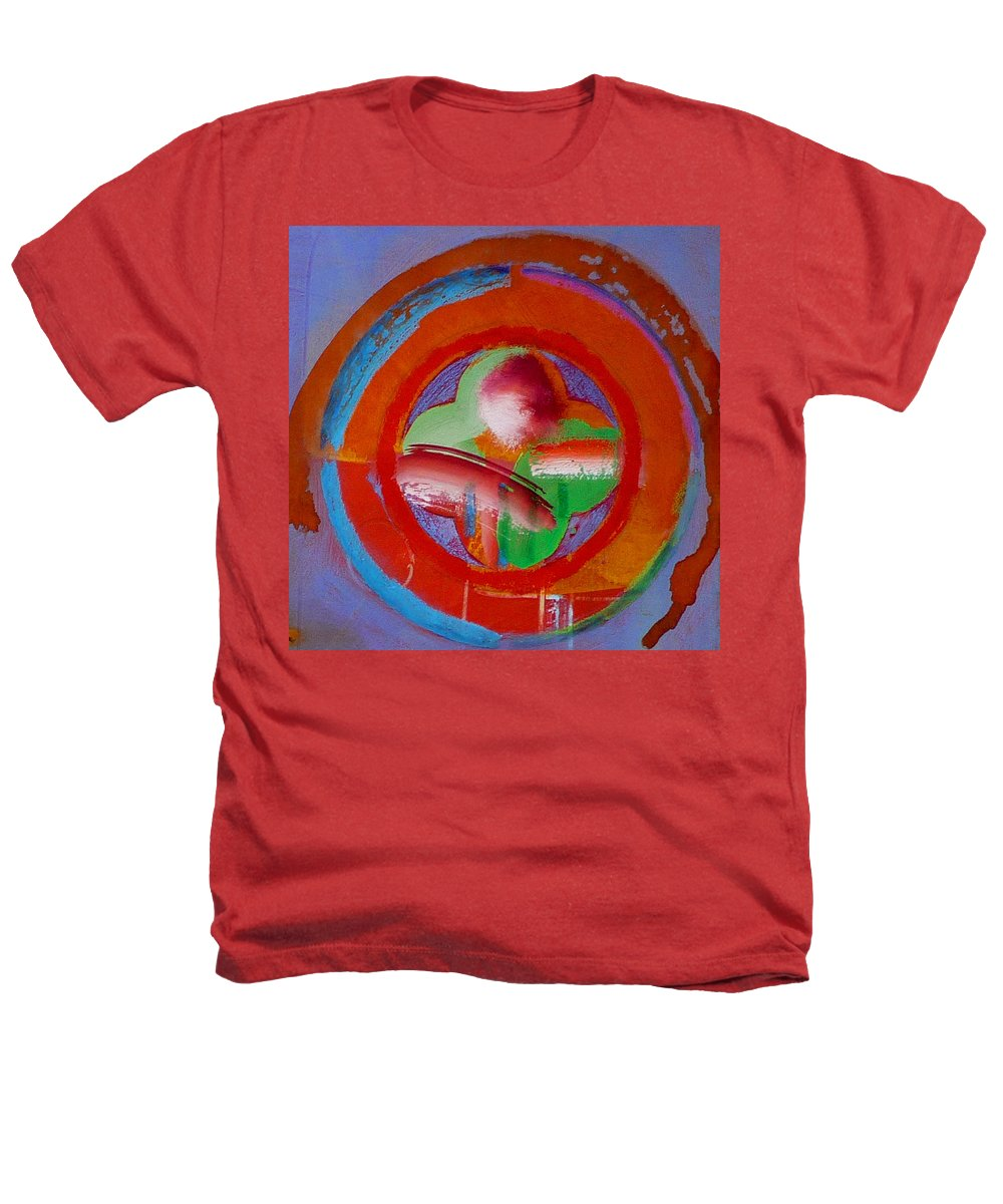Love Heathers T-Shirt featuring the painting Green Planet by Charles Stuart