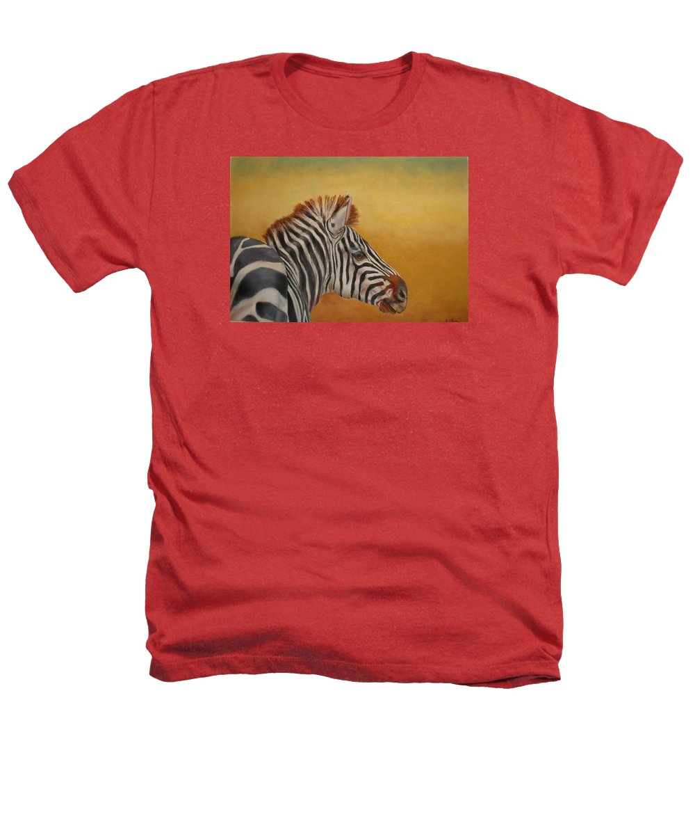 Africa Heathers T-Shirt featuring the painting Hello Africa by Ceci Watson