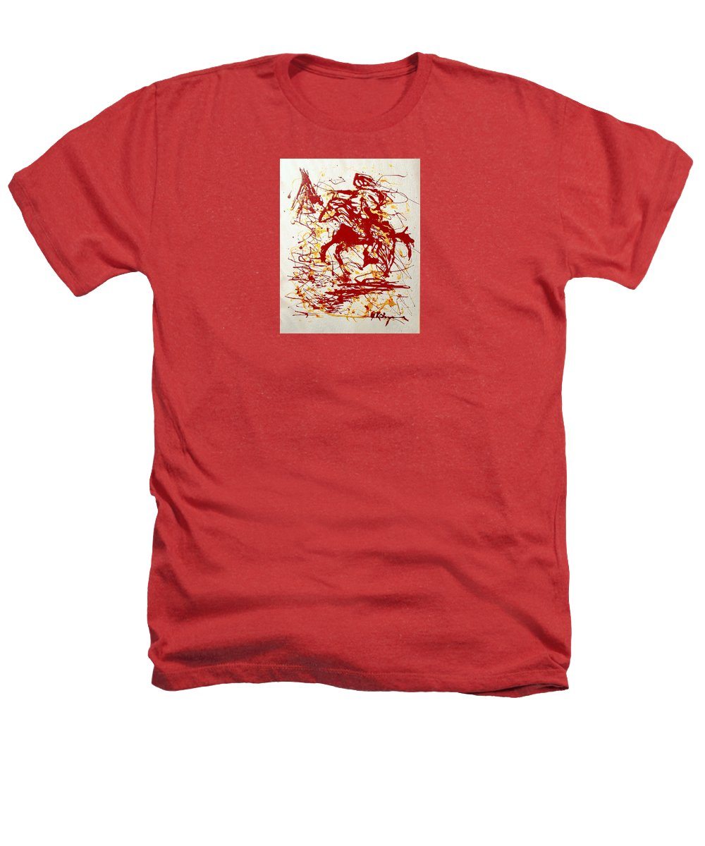 Indian Heathers T-Shirt featuring the painting History In Blood by J R Seymour