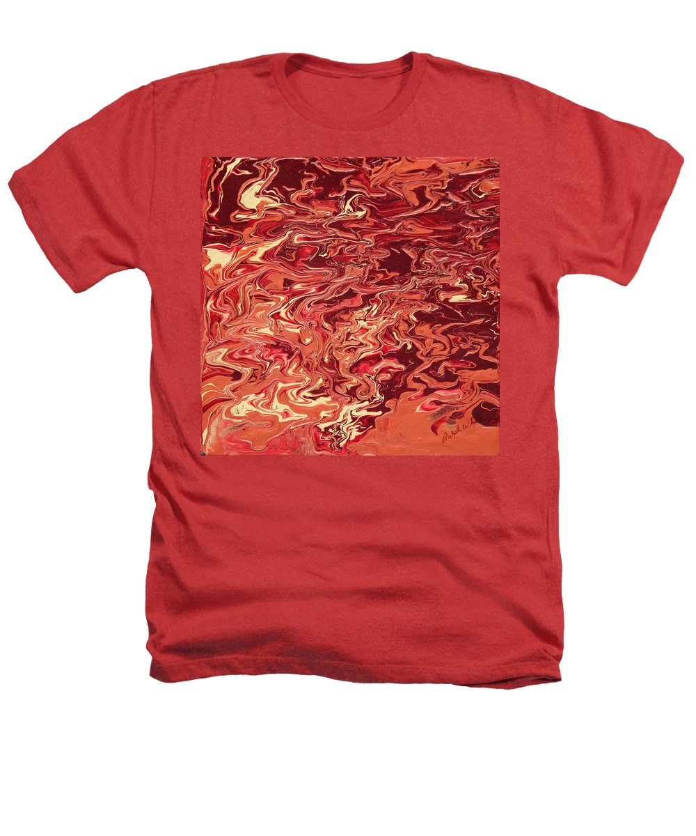 Fusionart Heathers T-Shirt featuring the painting Indulgence by Ralph White