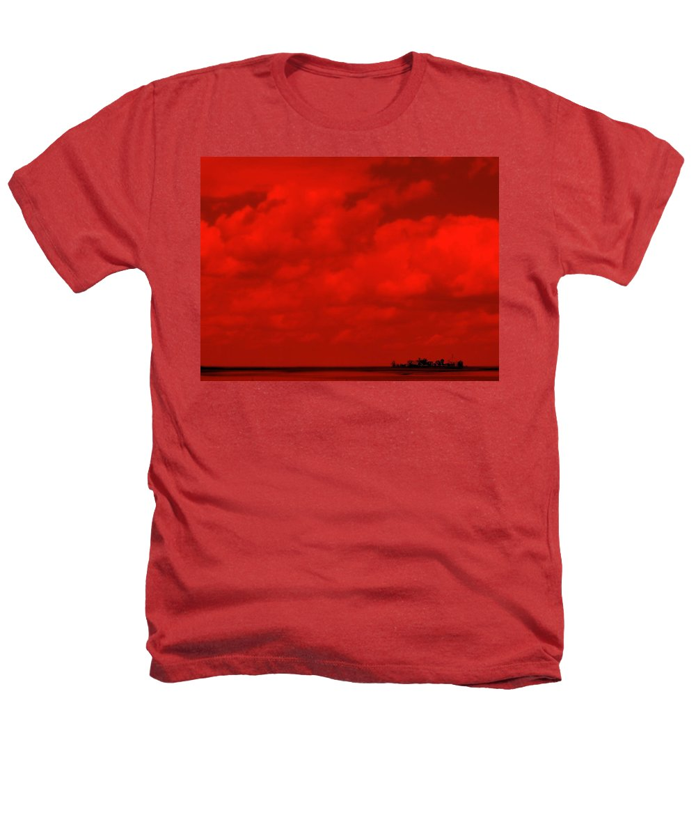 Sky Heathers T-Shirt featuring the photograph Life On Mars by Ed Smith