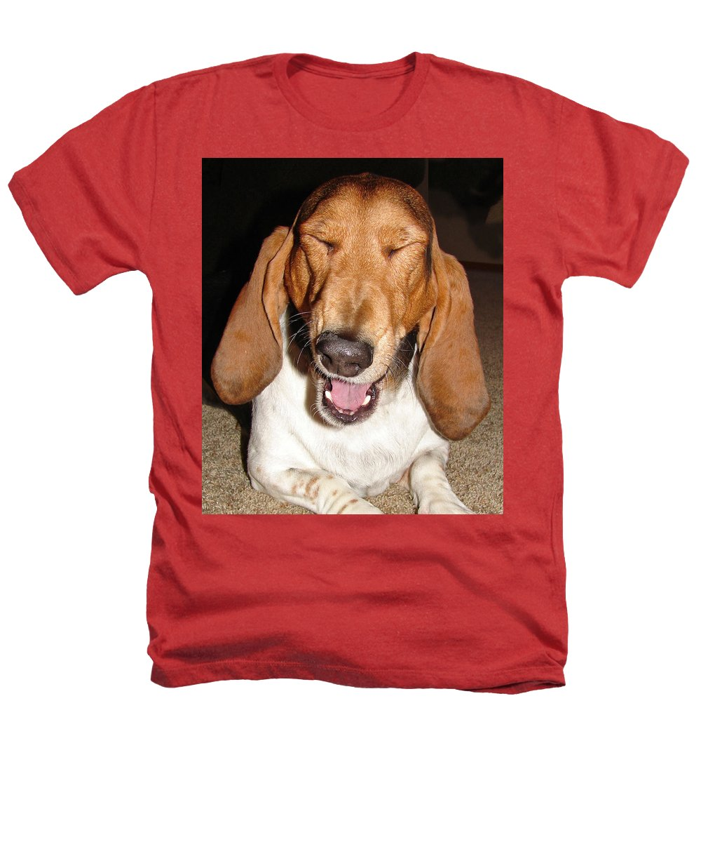 Basset Hound Heathers T-Shirt featuring the photograph Lillard by Heather Coen
