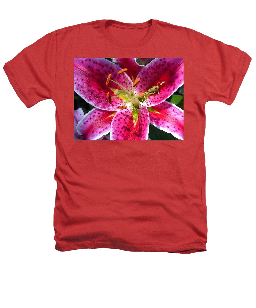 Charity Heathers T-Shirt featuring the photograph Lily by Mary-Lee Sanders