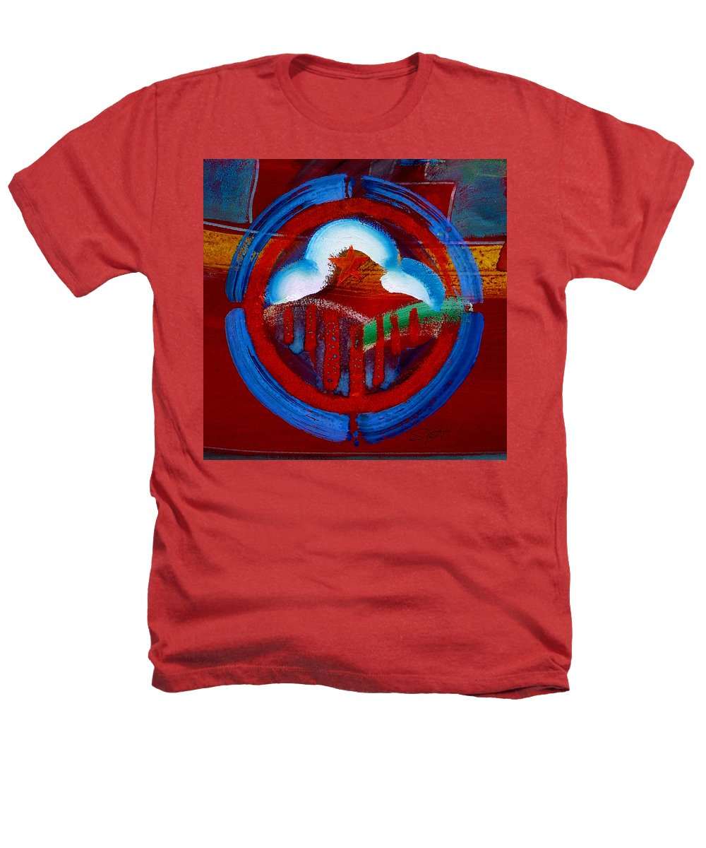 Star Heathers T-Shirt featuring the painting Lone Star State by Charles Stuart