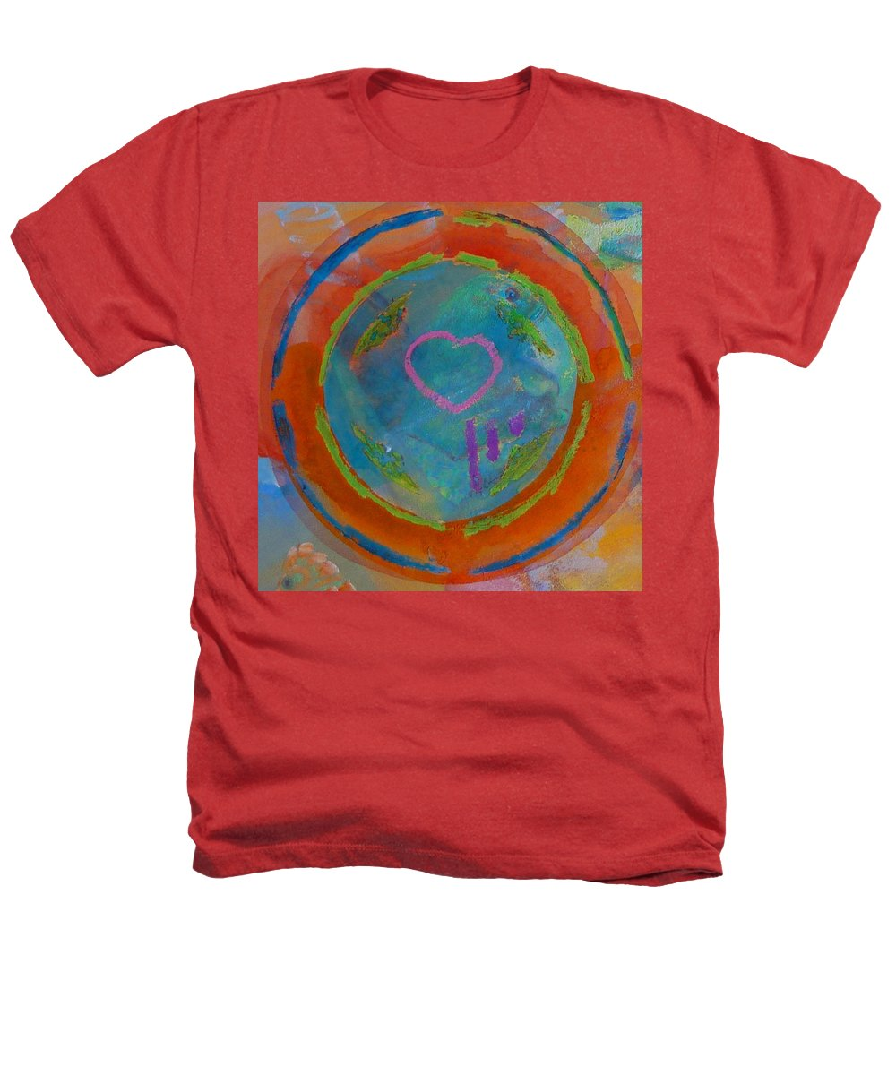 Logo Heathers T-Shirt featuring the painting Love The Sea by Charles Stuart