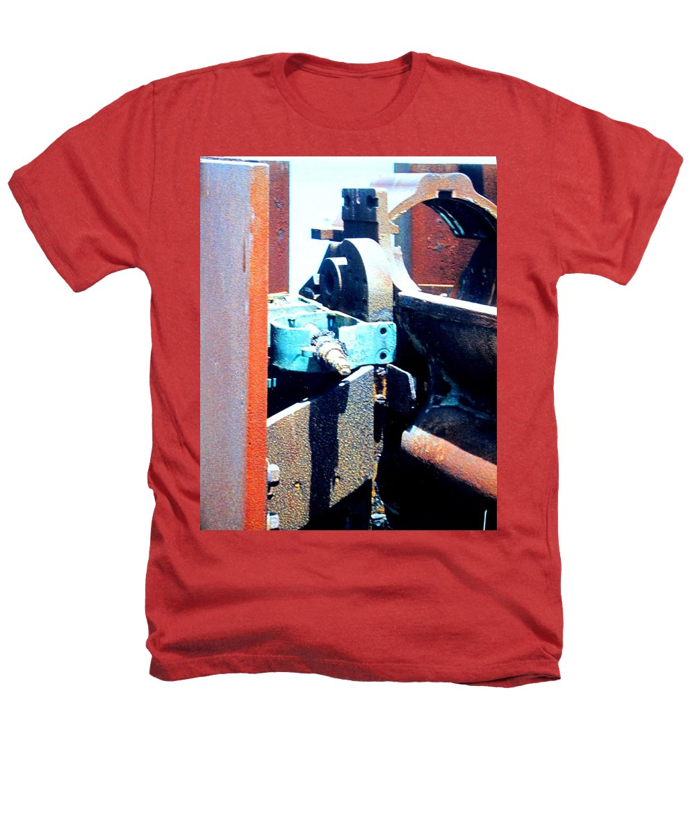 Rust Heathers T-Shirt featuring the photograph Machinery by Ian MacDonald