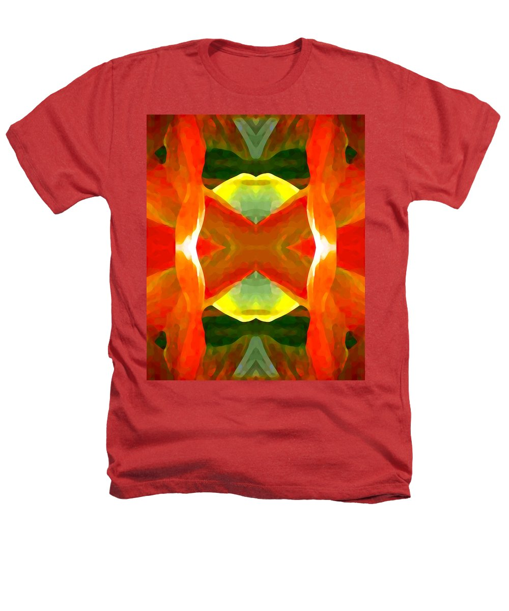 Abstract Heathers T-Shirt featuring the painting Meditation by Amy Vangsgard