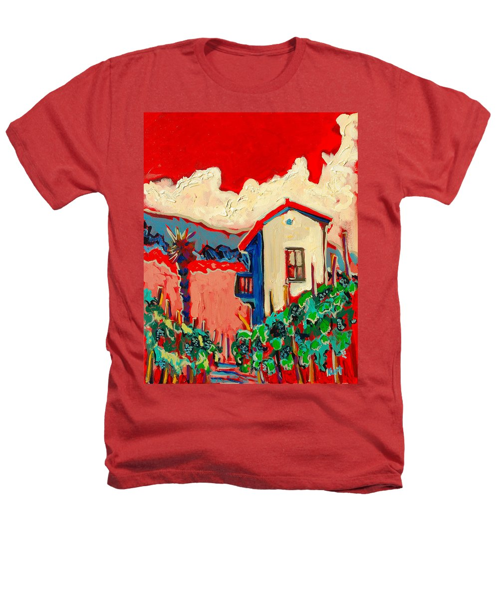 Tuscany Heathers T-Shirt featuring the painting Notare by Kurt Hausmann