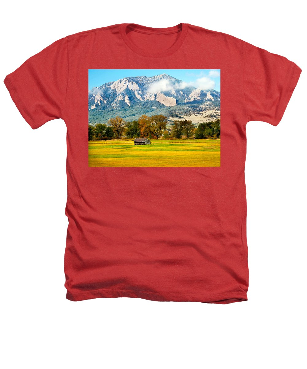 Rural Heathers T-Shirt featuring the photograph Old Shed by Marilyn Hunt